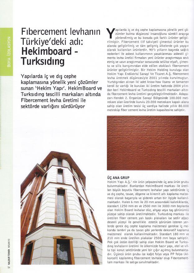 Nalbur Teknik Magazine