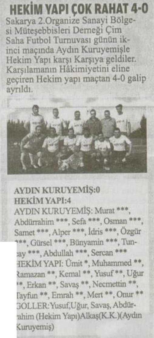 Bizim Sakarya Newspaper