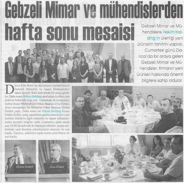 Gebze Yeni Haber Newspaper