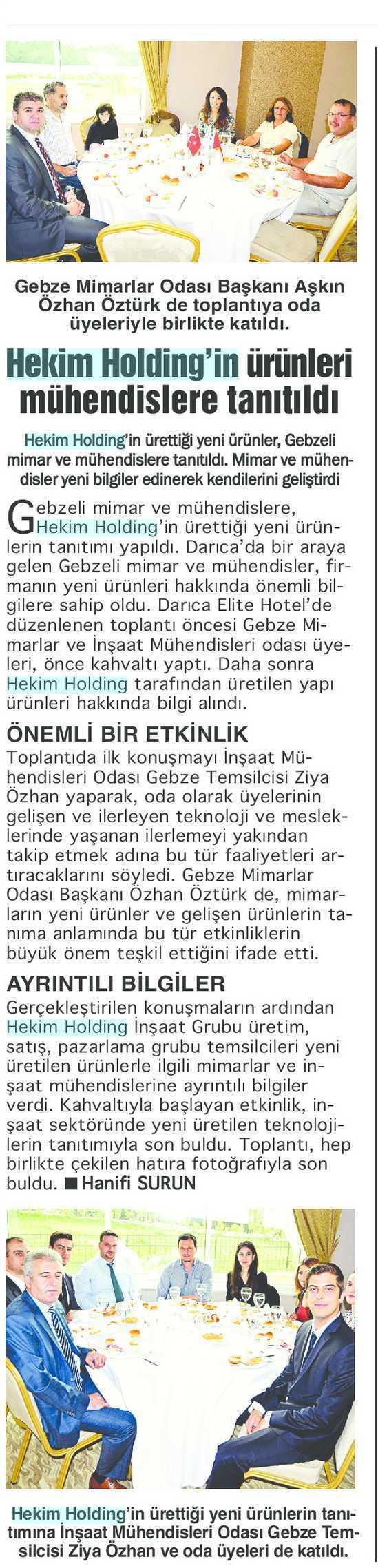 Bizim Kocaeli Newspaper