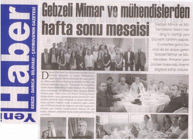Yeni Haber Newspaper