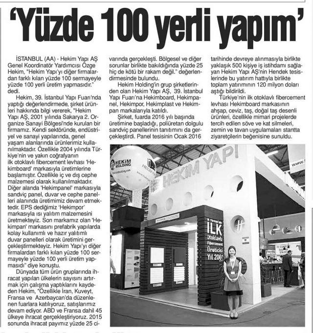 Yeni Çağrı Newspaper