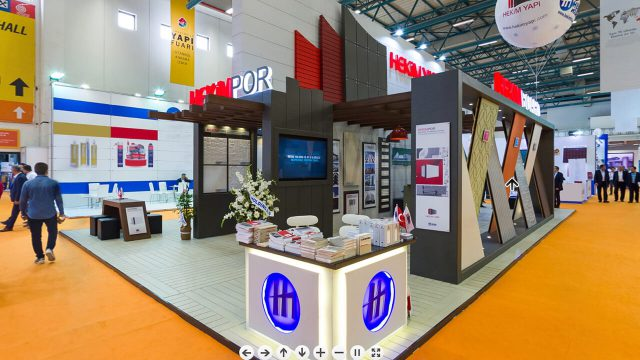 Our stand in 2017 Turkeybuild Istanbul Exhibiton