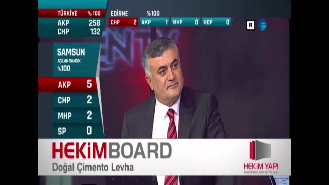 HekimBoard NTV Strip Advertising