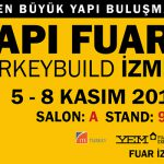 We are at İzmir Structure Fair