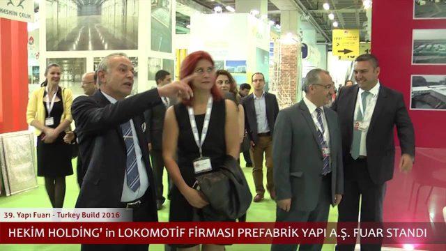 2016 Construction Fair Visits of Dr. Öner Hekim
