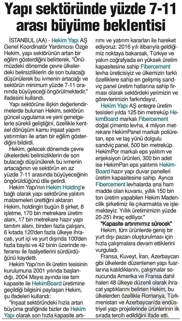 Tunaydın Newspaper