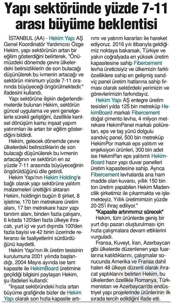 Tunaydın Newspaper