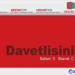 We are Taking Part in the 41st Istanbul Structure Fair