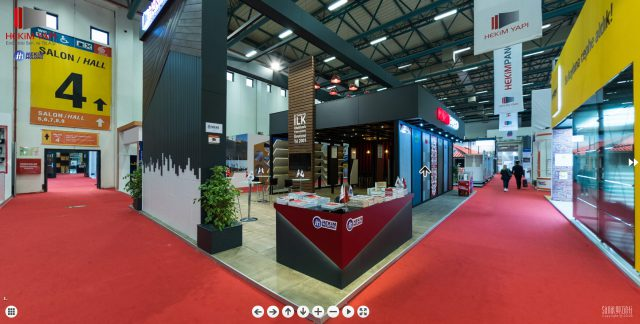 Our stand in 2018 Turkeybuild Istanbul Exhibiton