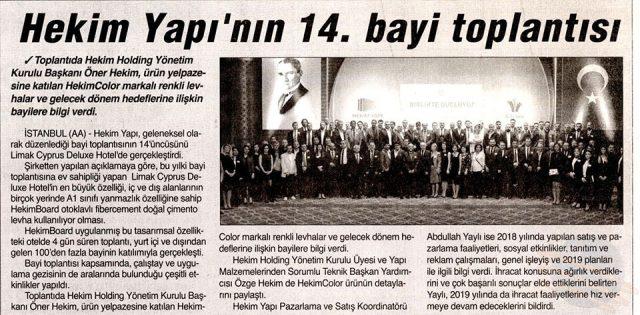 Tünaydın Newspaper