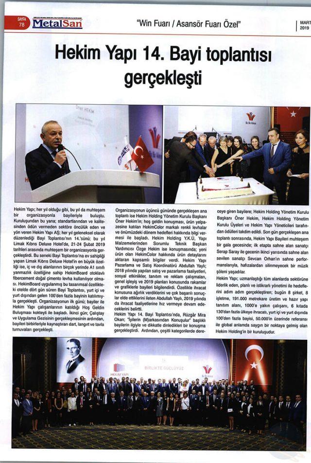 Metalsan Magazine