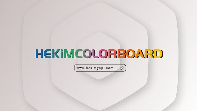 HekimColorBoard | First Self Colored Fibercement of Turkey