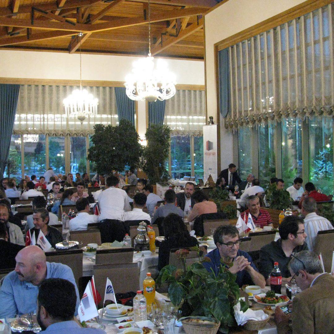 Traditional Iftar Dinner Held in Ankara