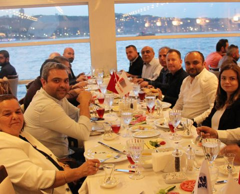Traditional Fast-Breaking Dinner Held in Istanbul