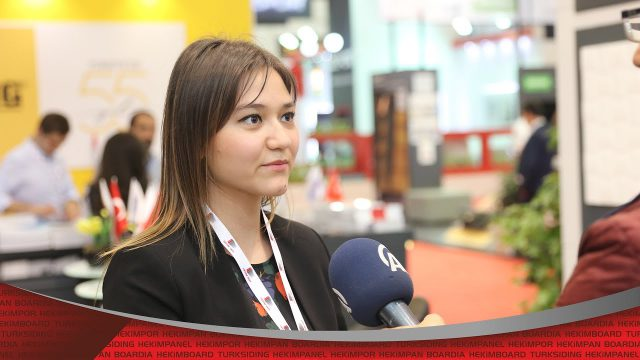 41th İstanbul Construction Fair Özge Hekim Interview