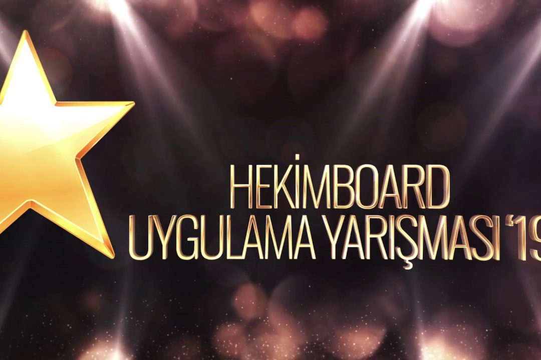 HekimBoard Application Competition 2019 | Hekim Yapı