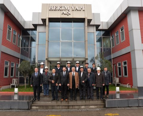 The state committee of Kyrgyzstan has visited Sakarya 2nd Organized Industrial Zone