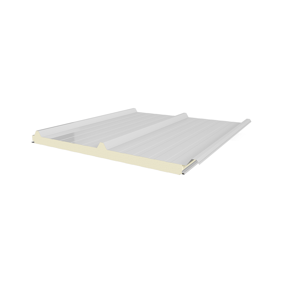 3 Ribs Sac-PIR-Metal Sheet Panel