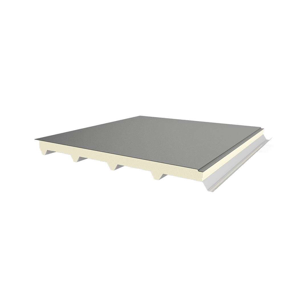 5 Ribs Metal Sheet-Polyurethane-Membrane Panel