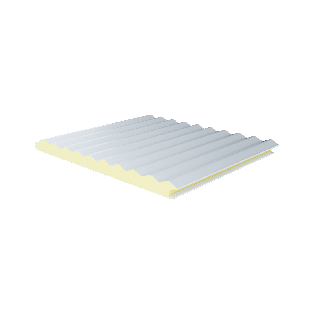 Pure Sine Metal Sheet PIR Panel